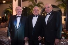 Amarílio Cavalcante, Alcimor Rocha  e Licínio Correa