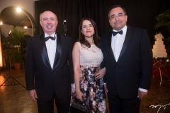 Amarílio Cavalcante, Fátima Gonçalves e Jardson Cruz