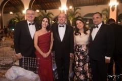 Geovana, Luiz Fernando Mota, Weiber Xavier, Fátima  Gonçalves E Jardson Cruz