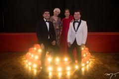Itaquê  Figueiredo, Alódia, Samyra Guimarães E Gustavo Serpa