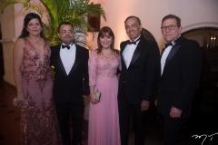 Karina, Márcio Guanabara, Cláudia Medeiros, Elísio Barbosa E Paulo Andrade