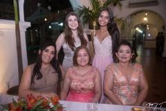 Regilania Costa, Mariana Santiago, Gorete Batista, Laura Fonseca E Cláudia Batista
