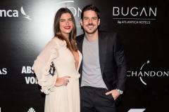 Mariana Goldfarb e Marco Pigossi