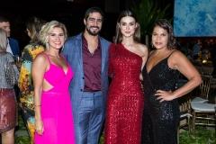 Juliana Santos, Renato Goes, Thaila Ayala e Daniela Falcão