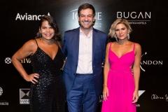 Bruno Astuto, Juliana Santos e Daniela Falcão