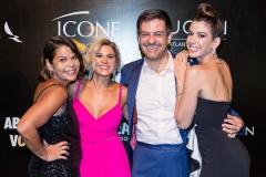 Daniela Falcão, Bruno Astuto, Juliana Santos, Camila Coutinho