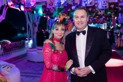 Cristina Grahn e Nuno Verissimo