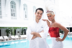 Chef Nello Cassese e Deborah Secco