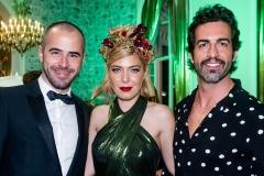 Joaquim Fernandes, Raquel Strada e Kiko Campos Costa