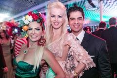 Márcia Verissimo, Giovanna Prioli e Rodrigo Raposo