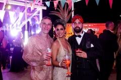 Paulo Caetano, Vivian Parizzi e Henrique Guimarães