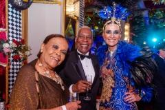 Mary Marinho, Haroldo Costa e Andréa Natal