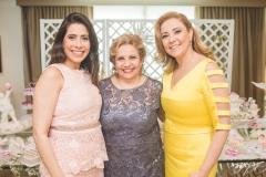 Aline Borges, Ila Bezerra e Andréa Delfino