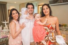 Aline Borges, Liz Borges, Daniel Borges, Bianca Batista e Juliana Batista