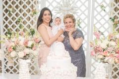 Aline Borges, Liz Borges e Ila Bezerra