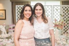 Aline Borges e Lia Nery