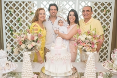 Andréa Delfino, Daniel Borges, Liz Borges, Aline Borges e Raimundo Delfino