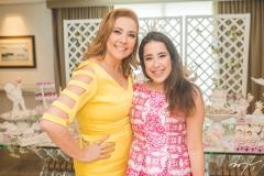 Andréa e Larissa Delfino