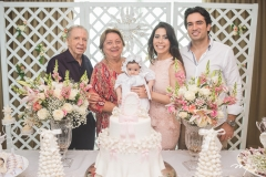Augusto Borges, Maria Dolores Borges, Liz Borges, Aline e Daniel Borges
