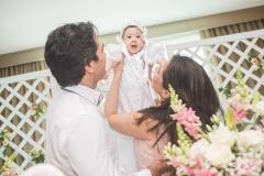 Daniel Borges, Liz Borges e Aline Borges