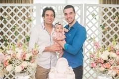 Daniel Borges, Liz Borges e Fernando Delfino