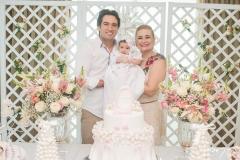 Daniel, Liz e Fernanda Borges