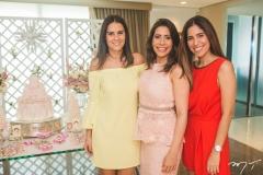 Deborah Bandeira, Aline Borges e Flávia Morais