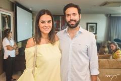 Deborah Bandeira e Arthur Viana