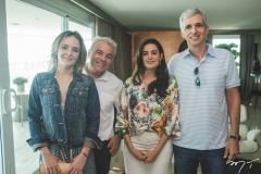 Érica Amaral, Renato Maia, Susana e Bernardo Legey