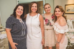 Elaine Brasil, Rose Batista, Fernanda Borges e Sônia Praça
