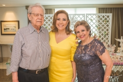 Eneas Bezerra, Andréa Delfino e Ila Bezerra