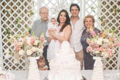 Eneas Bezerra, Liz Borges, Aline Borges, Daniel Borges e Ila Bezerra