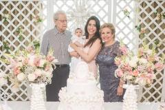 Eneas Bezerra, Liz Borges, Aline Borges e Ila Bezerra