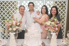 Euvaldo Bringel, Daniel Borges, Liz Borges, Aline Borges e Elaine Brasil