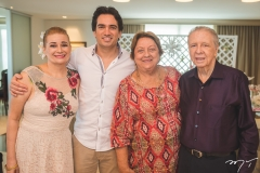 Fernanda, Daniel, Maria Dolores e Augusto Borges