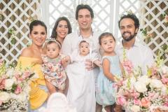Mariana Férrer, Lina Férrer, Aline Borges, Daniel Borges, Liz Borges, Adolfo e Lara Férrer