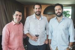 Mateus Morais, Bruno Batista e Arthur Viana