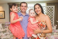 Melissa, Eliseu, Bianca e Juliana Batista