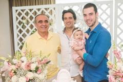 Raimundo Delfino, Daniel Borges, Liz Borges e Fernando Delfino