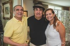 Raimundo Delfino, Eliseu Batista e Rose Batista