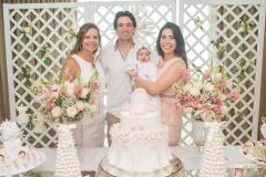Rose Batista, Daniel Borges, Liz Borges e Aline Borges