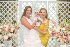 Rose Batista, Liz Borges e Andréa Delfino