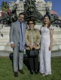 Márcio, Célia e Manoela Crisóstomo