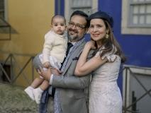 Enzo, Márcio e Manoela Crisóstomo