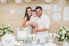 Bianca, Felipe e Wilton Correia Lima