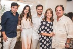 Fernando Lima, Fernanda Levy, Wilton Correia Lima, Geni Levy e Wilton Correia Lima