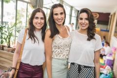 Ingrid Rocha, Bianca Correia Lima e Carolina Militão