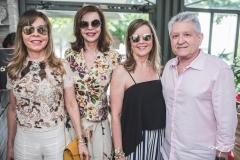 Venusia Ribeiro, Gláucia e Valeria Andrade e Heron Ibiapina