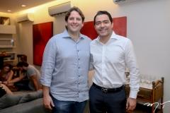 Daniel Simões e André Laprovitera
