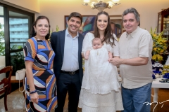Elusa, Geraldo, Lara, Guilherme e Totonho Laprovitera